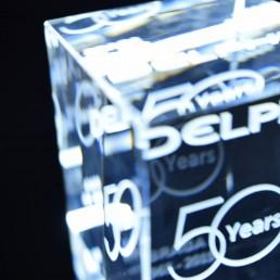 gravacao em vidro delphi  anos