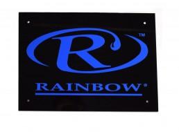 placa identificativa impressa em acrilico